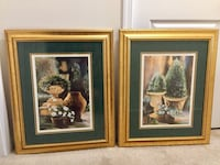 SPRUCE UP your HOME with this SET OF 2 LARGE GLASS FRAMED PICTURES! Aldie, 20105