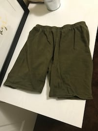 Olive green biker shorts  Los Angeles, 90032
