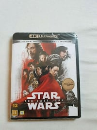 Stars wars the last jedi 4k ultra hd  + blue ray + bonus  Strusshamn