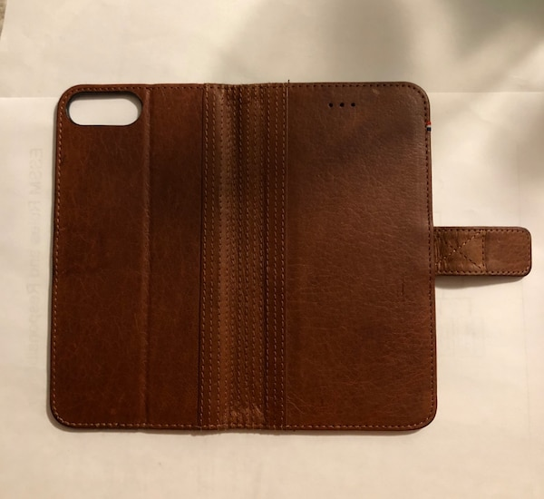 Brown Leather Phone Case/Wallet 1817059d-0475-4c73-ac8e-0fd1ecbd3a86