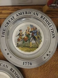 The Great American Revolution collector plate DeLand, 32720