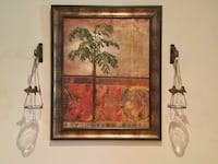 Tropical Picture in Frame
