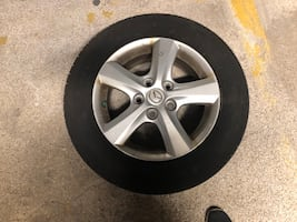 TIRE AND RIMS FOR SALE- ALL SEASONS