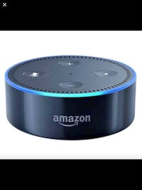 black and blue Amazon Echo Dot Winnipeg, R3C 4J7