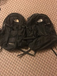 2 north face back packs  Fairfax Station, 22039