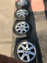 Audi Pirelli Winter Tires and Rims *Dropped price by $75* Vaughan, L6A 2E1