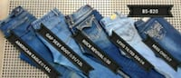 two blue and black denim jeans Bakersfield, 93307
