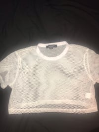 fishnet crop top from urban b size small Mississauga, L4T