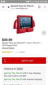red Speck iGuy for iPad Air screenshot Stuart, 34997