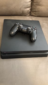 PS4 Console & Controller (With cables)