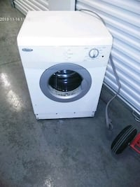 white front-load clothes washer Capitol Heights, 20743