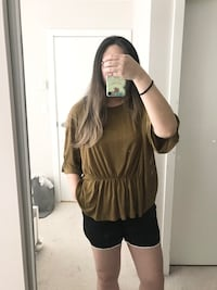 Oak and fort beige blouse/top