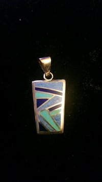 Sterling silver charm two side Hyattsville, 20784