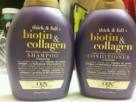 Hair shampoo and conditioner Not used