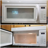 white over-the-range microwave collage Spanaway, 98387