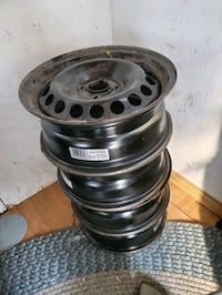 15 inches steel rims Mississauga, L5M 7T8