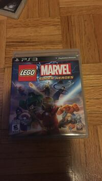 Lego Marvel Super Heroes PS3 game case Mississauga, L5B 1E8
