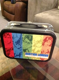 Justice league lunch box new