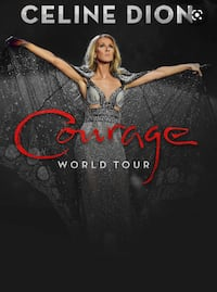 Celine Dion courage tour BELOW COST