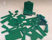 50 assorted Lego (green) Arlington, 22204
