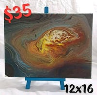 12x16 Abstract Painting Monroe, 71203
