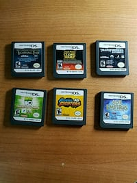 6 Nintendo ds games Silver Spring, 20905