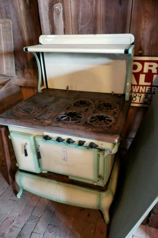 Antique Stewart oven stove