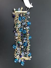 Blue and Gold Bracelet - Costume Jewelry Kennesaw, 30144