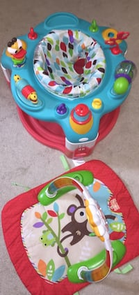 2 in 1 activity gym and saucer Annandale, 22003