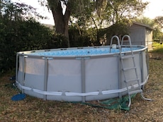 Round White Above Ground Pool In Orlando Letgo