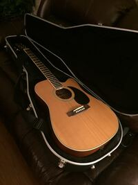 Austin AU520 Acoustic Electric Guitar (with Hard Case) Centreville, 20121