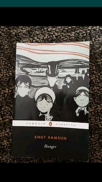 Knut Hamsin Hunger book Lake Forest, 92630