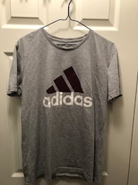 Nice Adidas T shirt size large but recommend someone who's medium to buy it