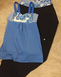 Lululemon Pants & matching Top in size 8