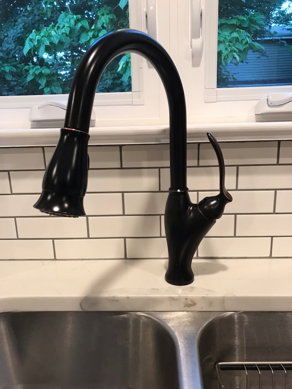 Tunscany Oil Rubbed Bronze Kitchen Faucet