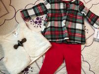 Red and white plaid textile Kingsburg, 93631