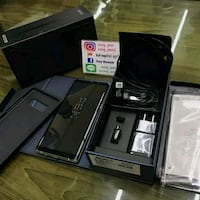 black Sony Xperia smartphone with box Seattle, 98168