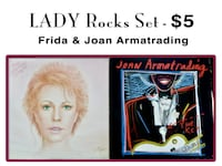 LADY Rocks LP Set - FRIDA (of ABBA) & JOAN ARMATRADING - $5 (Bethesda) Bethesda, MD, USA