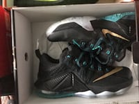 pair of black Air Jordan basketball shoes with box New Rochelle, 10804