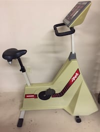 Lifecycle stationary bike. Programmable. $150 St. Catharines