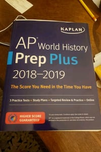 Kaplan AP world History study guide Abingdon, 21009