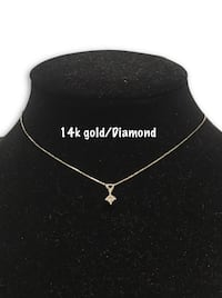 14k diamond necklace  Alexandria, 22304
