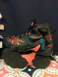 pair of black-and-red Nike basketball shoes Sacramento, 95821