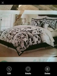 New 6 pieces Comforter Cover Set Full