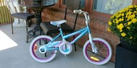 toddler's blue and pink bicycle Mississauga, L4X 2X5