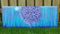 40x16 inches solitude Tree acrylic painting  Toronto, M6A 2S7