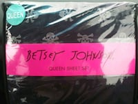 Betsey Johnson Skull Sheet Set Queen Concord