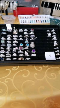 Ring, necklaces, bracelets, anklets and more