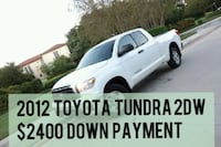 $2400 DOWN PAYMENT 2012 Toyota Tundra 2DW SR5  Houston