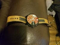 Diesel chief with leather strap Houston, 77092